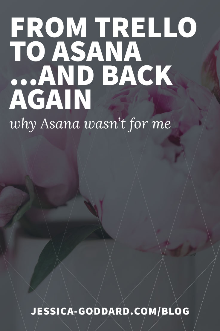 From Trello to Asana and back again - why Asana wasn't for me