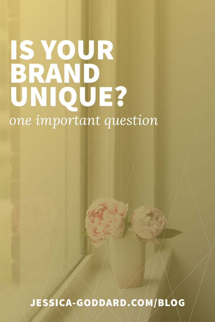 Is your brand unique? One important question.