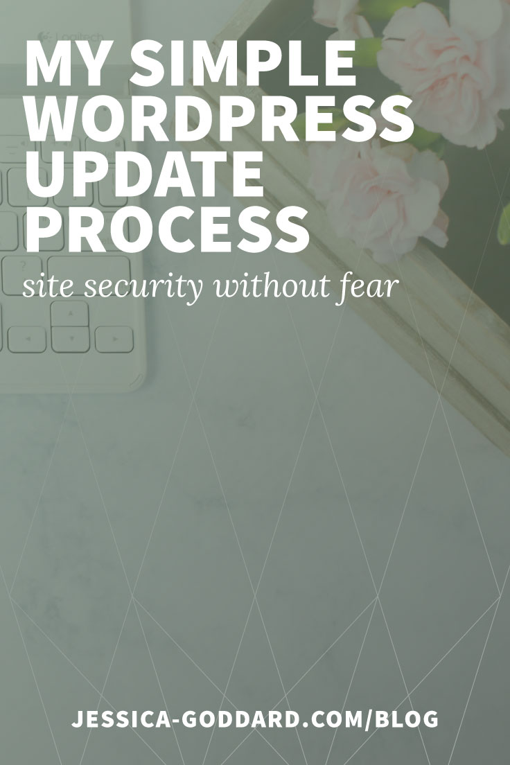 My simple WordPress update process to increase security and reduce fear