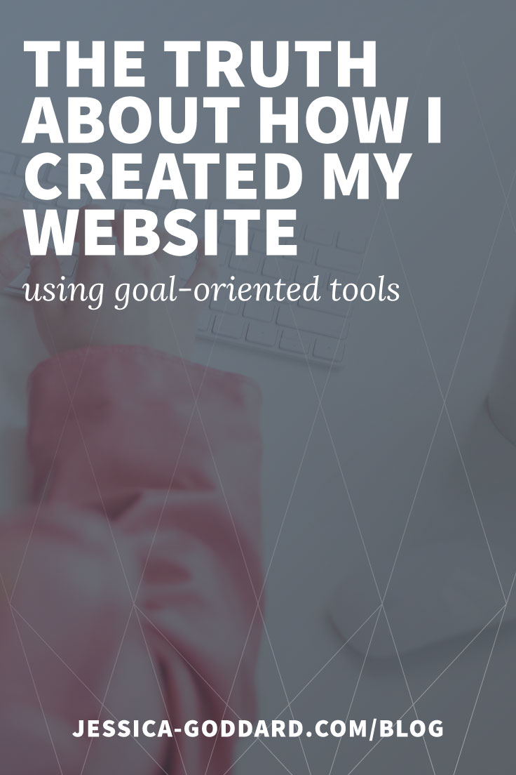 The truth about how I created my website, using the tools that met my goal.