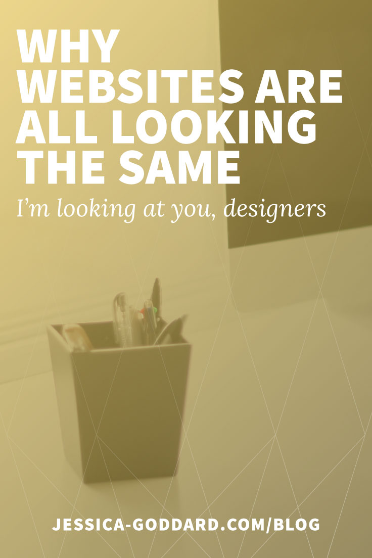 Why websites are all looking the same - I'm looking at you, web designers