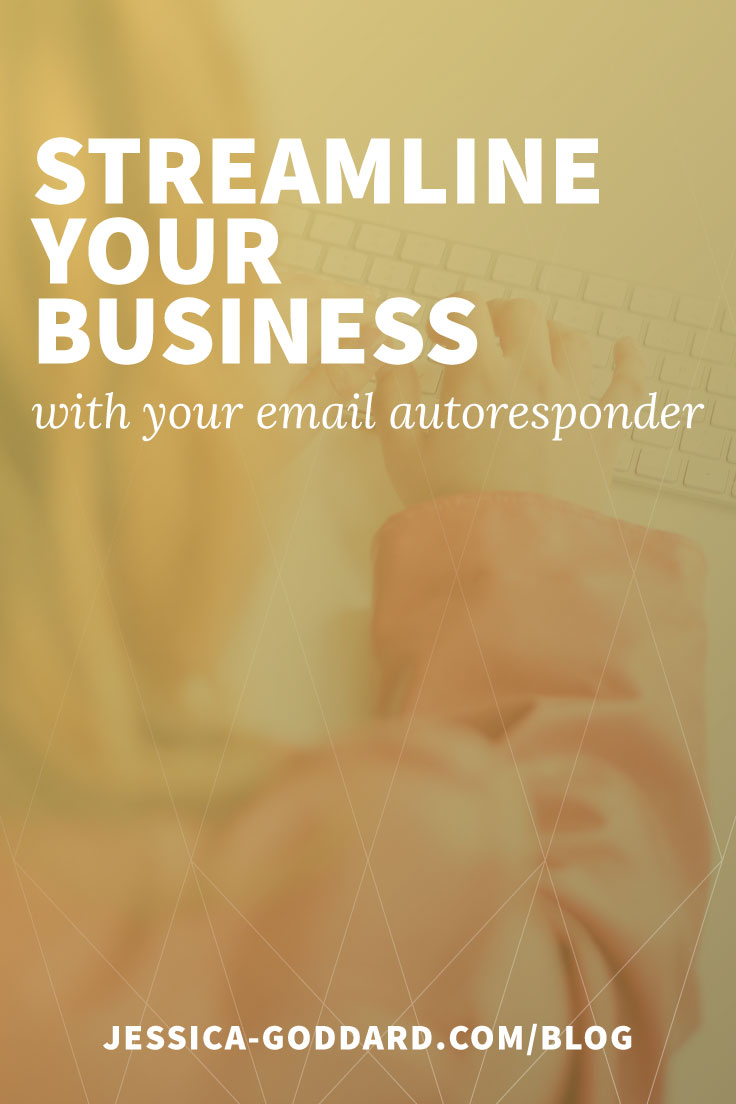 Streamline your business - with your email autoresponder.